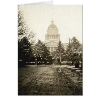 Capitolio del estado Sacramento CA 1922 Tarjeta