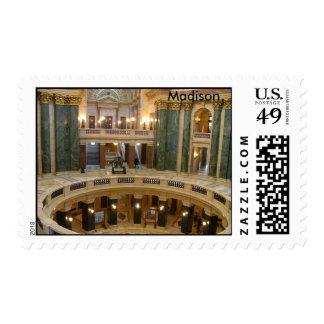 Capitolio del estado franqueo