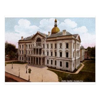 Capitolio del estado, vintage de Trenton NJ Tarjetas Postales