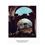 Capitolio del romano del capricho de Bernardo Bell Postal