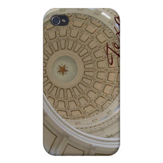 Capitolio del Tejas-State de Austin de la Rotonda iPhone 4 Carcasa