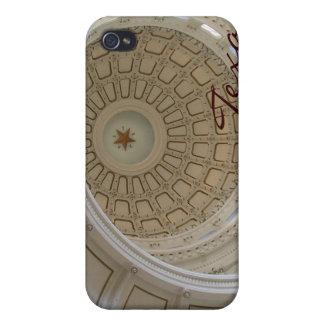Capitolio del Tejas-State de Austin de la Rotonda iPhone 4/4S Fundas