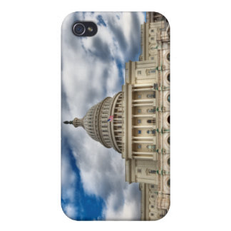 Capitolio del Washington DC - caso del iPhone 4 iPhone 4 Protectores