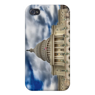 Capitolio del Washington DC - caso del iPhone 4 iPhone 4 Fundas
