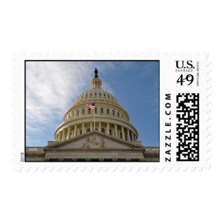 Capitolio del Washington DC de los Estados Unidos Franqueo