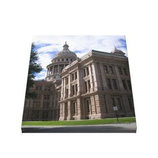 Capitolio Edificio-Austin, TX del estado de Austin Impresión En Lienzo