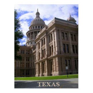 Capitolio Edificio-TEJAS 1 del estado Tarjeta Postal