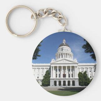 Capitolio en Sacramento Llavero Personalizado