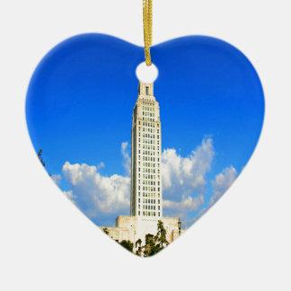 capitolio que construye al gobierno de Luisiana Ba Ornatos