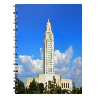 capitolio que construye al gobierno de Luisiana Ba Cuadernos
