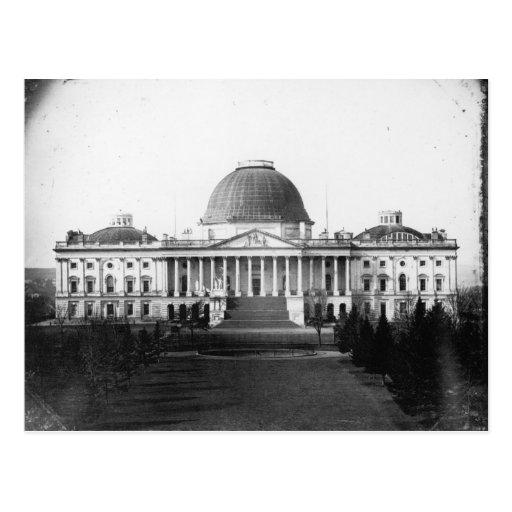 Capitolio que construye dc 1845 de Washington Tarjeta Postal