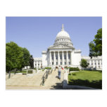 Capitolio que construye los WI de Madison