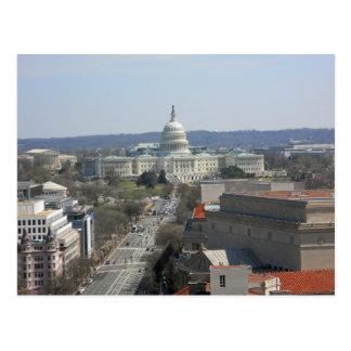 Capitolio que construye Washington DC de la Postales