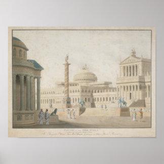 """Capitolio, sistema para el """"clemeza di Tito del La Póster"""