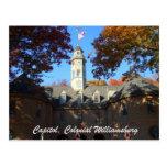 Capitolio, Williamsburg colonial Postales