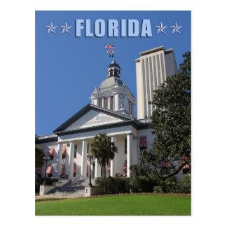 Capitolios del estado de la Florida (viejos y nuev Tarjeta Postal
