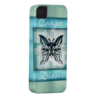 capítulo Carpe Diem de la mariposa del caso del iP iPhone 4 Cobertura