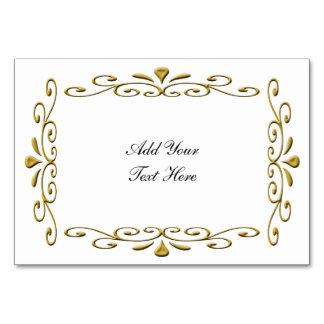 capítulo de lujo del boda del oro con el texto