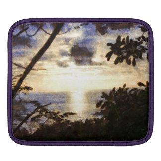 Capítulo de una puesta del sol fundas para iPads