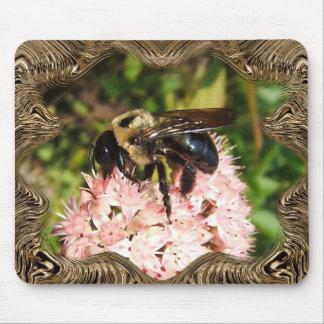 Capítulo manosee el mousepad del de la abeja alfombrilla de ratón