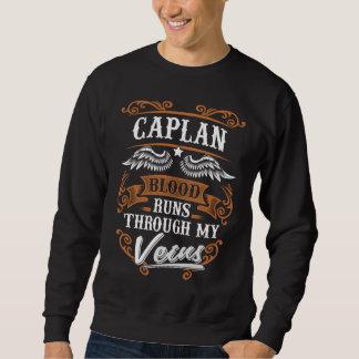 CAPLAN Blood Runs Through My Veius Sweatshirt