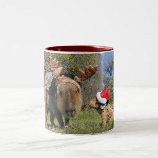 Caplin Rous Christmas Mug