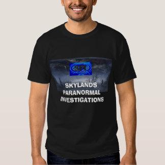 CapLogo, SKYLANDS PARANORMAL INVESTIGATIONS T Shirt