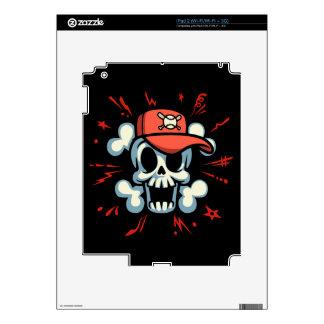 Cap'n Baller iPad 2 Decal