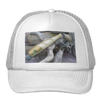 Cap'n Bill Gold Swimmer Vintage Lure Hat