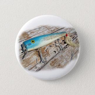 Cap'n Bill's Streamliner Saltwater Vintage Lure Button