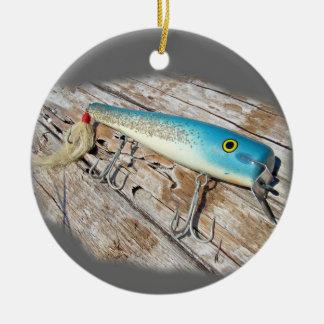 Cap'n Bill's Streamliner Saltwater Vintage Lure Ceramic Ornament
