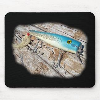 Cap'n Bill's Streamliner Saltwater Vintage Lure Mouse Pad