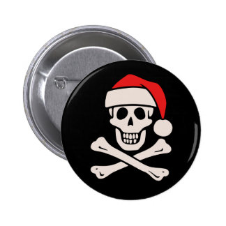 Cap'n Claus Pinback Button