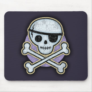 Cap'n Patchy Mouse Pad