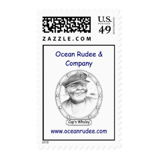 Cap'n Whaley USPS Stamps