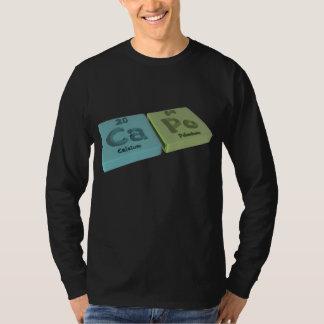 Capo as Ca Calcium and Po Polonium T-Shirt