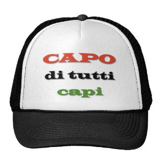 Capo/Boss Trucker Hat