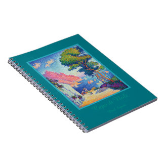 Capo di Noli by Paul Signac Notebook