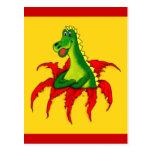 Capo el dragón Pequeño Tarjetas Postales