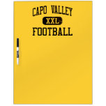 Capo Valley Cougars Football Dry Erase Whiteboards