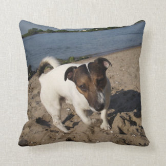 Capo von Oppenheim Jack Russell Terrier, Dog Throw Pillow