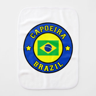 Capoeira Baby Burp Cloth