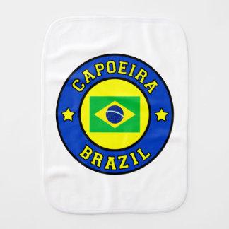 Capoeira Baby Burp Cloth
