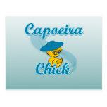 Capoeira Chick #3 Postcards