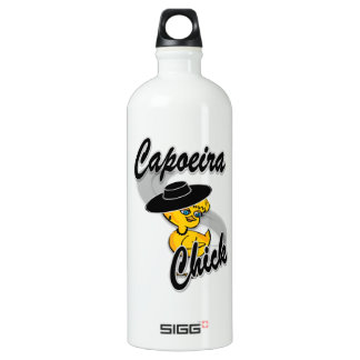 Capoeira Chick #4 Water Bottle