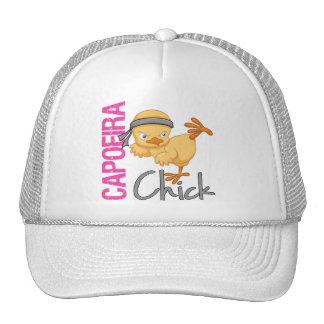 Capoeira Chick Trucker Hat