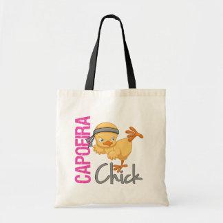 Capoeira Chick Tote Bag