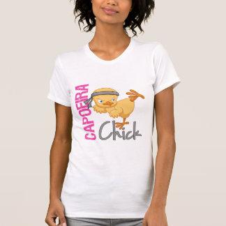 Capoeira Chick T Shirt
