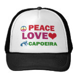 Capoeira del amor de la paz gorra