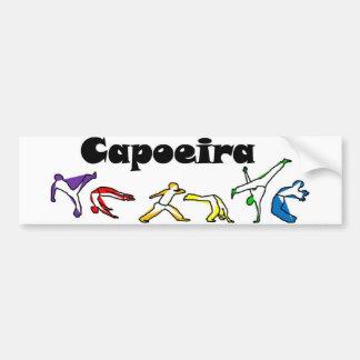 capoeira del karate de los artes marciales de la pegatina para coche